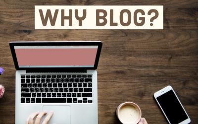 #Realtors: Why BLOG?