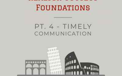 #Realtor Success Foundations: Pt. 4 Timely Communication