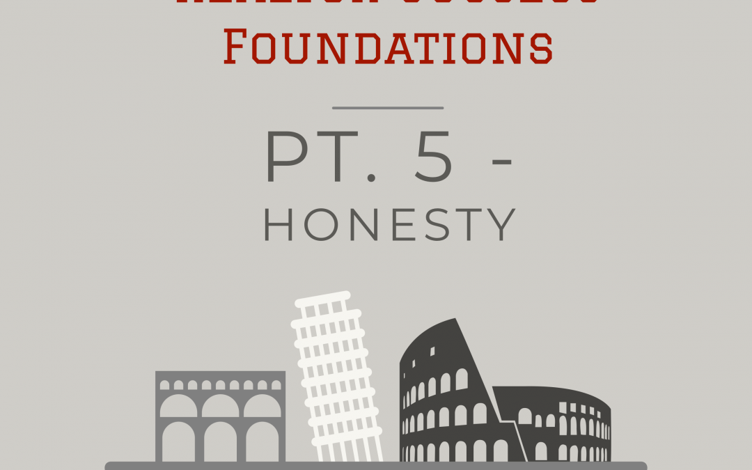 #Realtor Success Foundations: Pt. 5 Honesty
